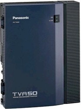 Panasonic KX-TVA50 voice processor for 2 to 6 ports, 4 or 8 hours recording time