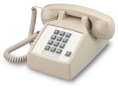 Desk phone with timed FLASH button for call-waiting, transfer, etc. FREE SHIP