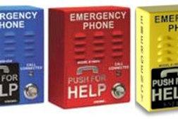 Emergency auto-dial speakerphones. 3 colors. Outdoor or indoor use. Free ship