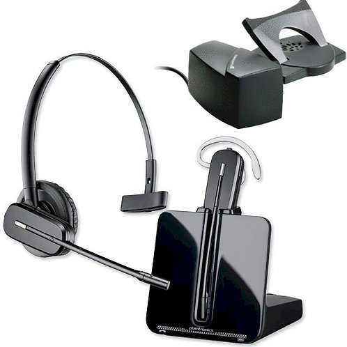 Ultra-light wireless headset for on-ear or on-head. With lifter. FREE SHIP