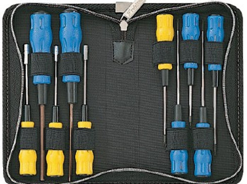 11-piece driver set for cellphone, cordless, PCs. 5-yr warranty. FREE SHIP