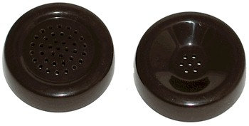 """Transmitter AND Receiver cap for """"G"""" style handsets. FREE SHIP."""