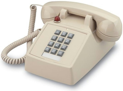 Desk phone with MESSAGE WAITING light. Two colors. FREE SHIP.