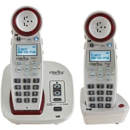 Extra-loud cordless phone with second handset, Caller ID. FREE SHIPPING.