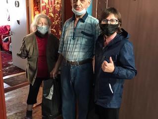 Благотворительная акция «Ко дню пожилого человека»