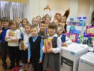 Благотворительная акция в «Мгинской школе-интернате»