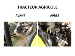 préparation tracteur