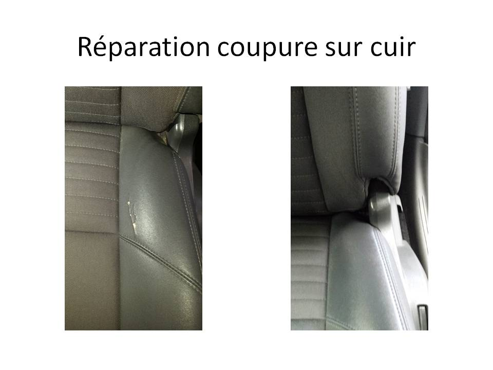 Réparation coupure simili