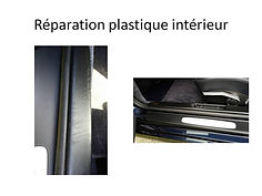 plastique interieur de voiture abimé brest  rénovation breizhautonet