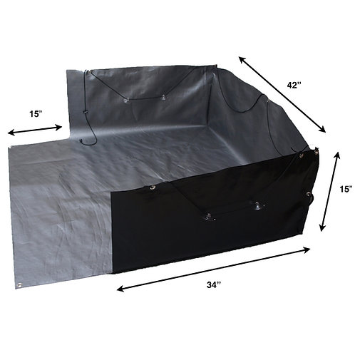 "Cargo Apron -Small for cargo area length of 26"" to 46"""