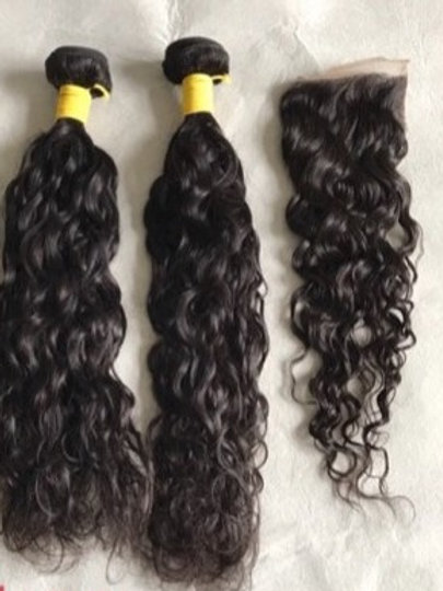 Natural Wave 2 Bundle Deals w/Closure