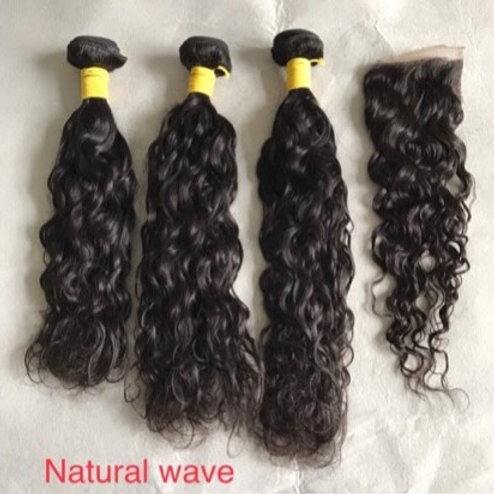 Natural Wave 3 Bundle Mix and Match Deal w/ Closure