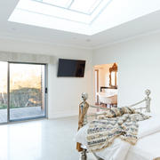 Apartments- bedroom, skylight, bush.jpg