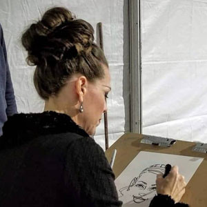 Carolyn-Caricatures-Events-Layton-City-U