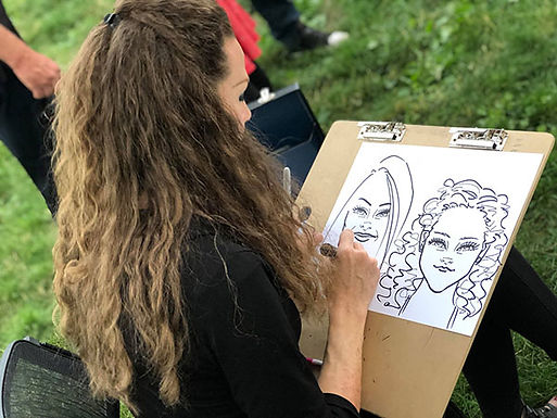 Carolyn-Caricatures-Event-Salt-Lake-City