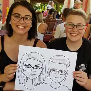Alex-Caricatures-Events-Draper-City-Utah