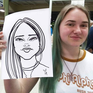 Carolyn-Caricatures-Events-Sandy-City-Ut