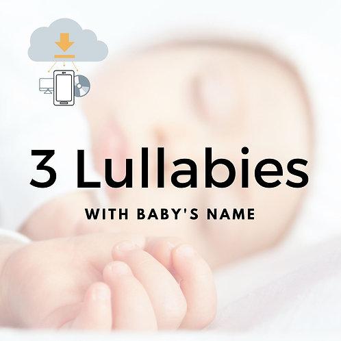 3 lullabies