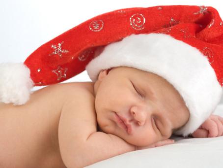 Das schnelle Weihnachtsgeschenk per Email für Babys.