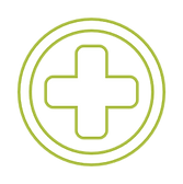 Favicon_Healthcare Fund_White w green ou