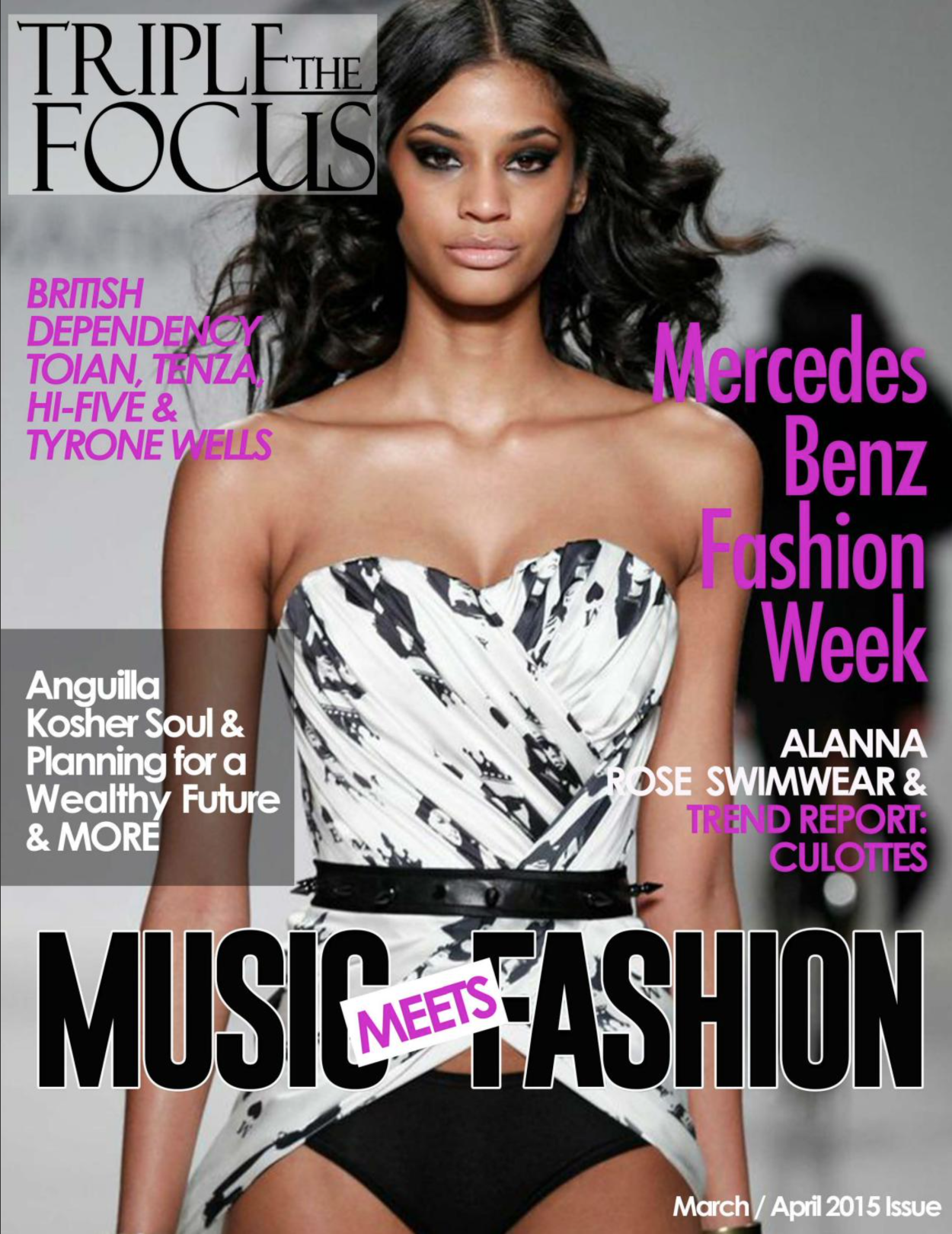 Triple the Focus magazine march: april 2
