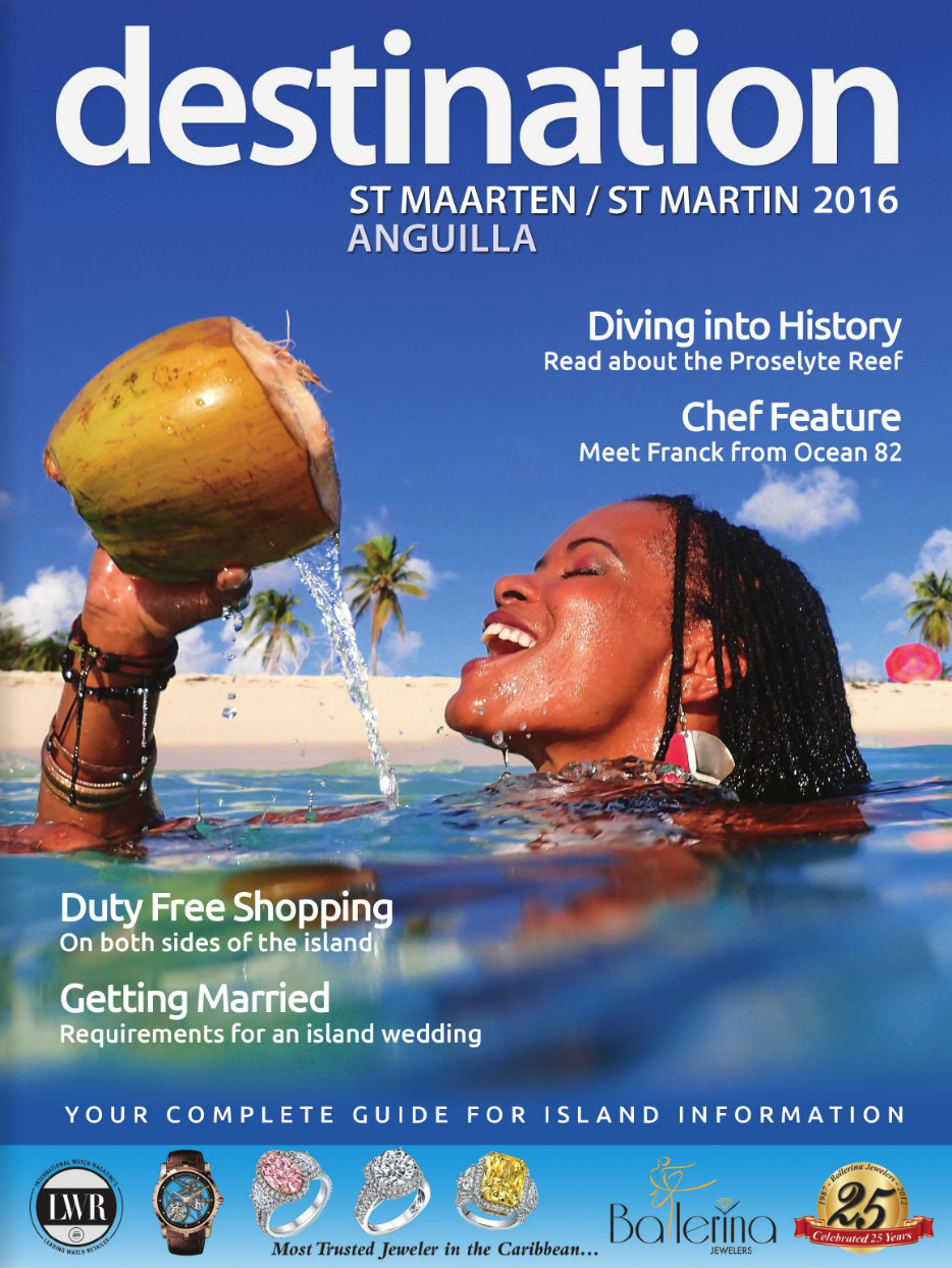 destination magazine ST Martin