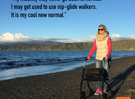 NEW NORMAL with nip-glide walkers