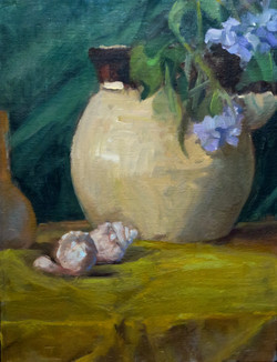 Vase and Shells