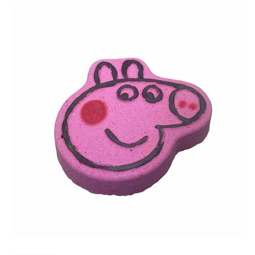 Pippa the Pig Grape Bath Bomb