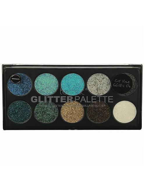 Technic Mermaid Pressed Glitter Palette