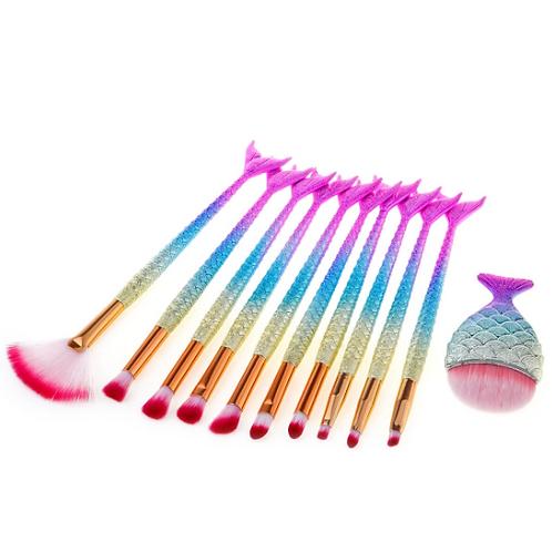 11 Piece Make Up Brush Set