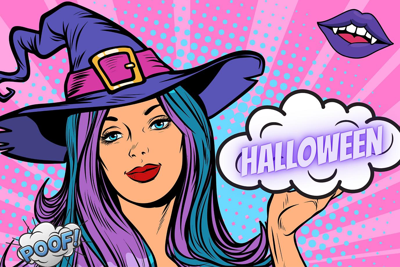 Copy of Copy of Black and White Typographic Dark & Trendy Interactive BG Halloween Tiktok
