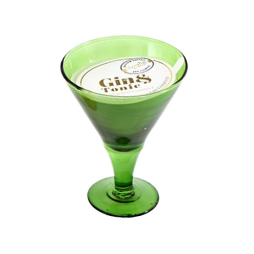 12CM Gin & Tonic Scented Candle In A Glass