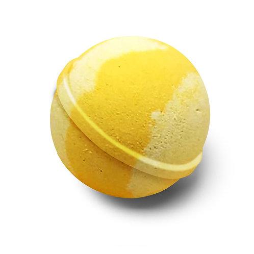 Sherbet Lemon Bath Ball