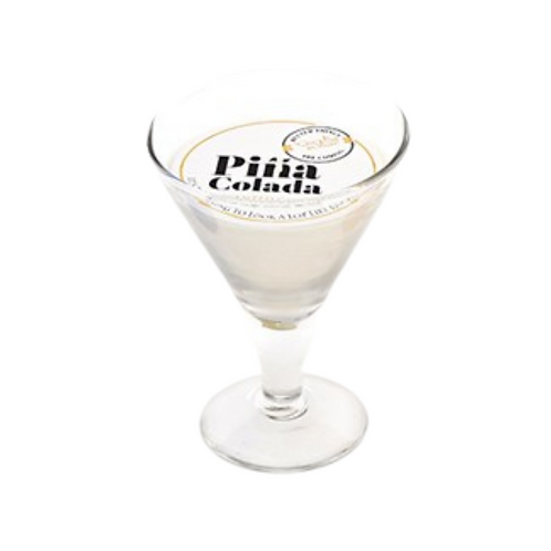 12CM Pina Colada Scented Candle In A Glass