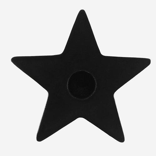 Black Star Spell Candle Holder