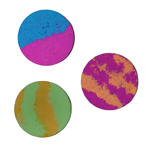 3 FOR £10 - Large Cylinder Bath Bombs
