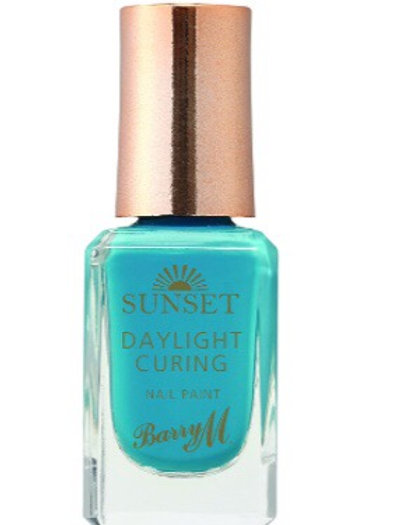 Barry M Sunset Daylight Curing Paint Nail Polish – The Way You Make Me Teal