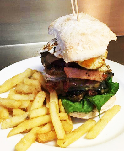 Junction Lamb Burger