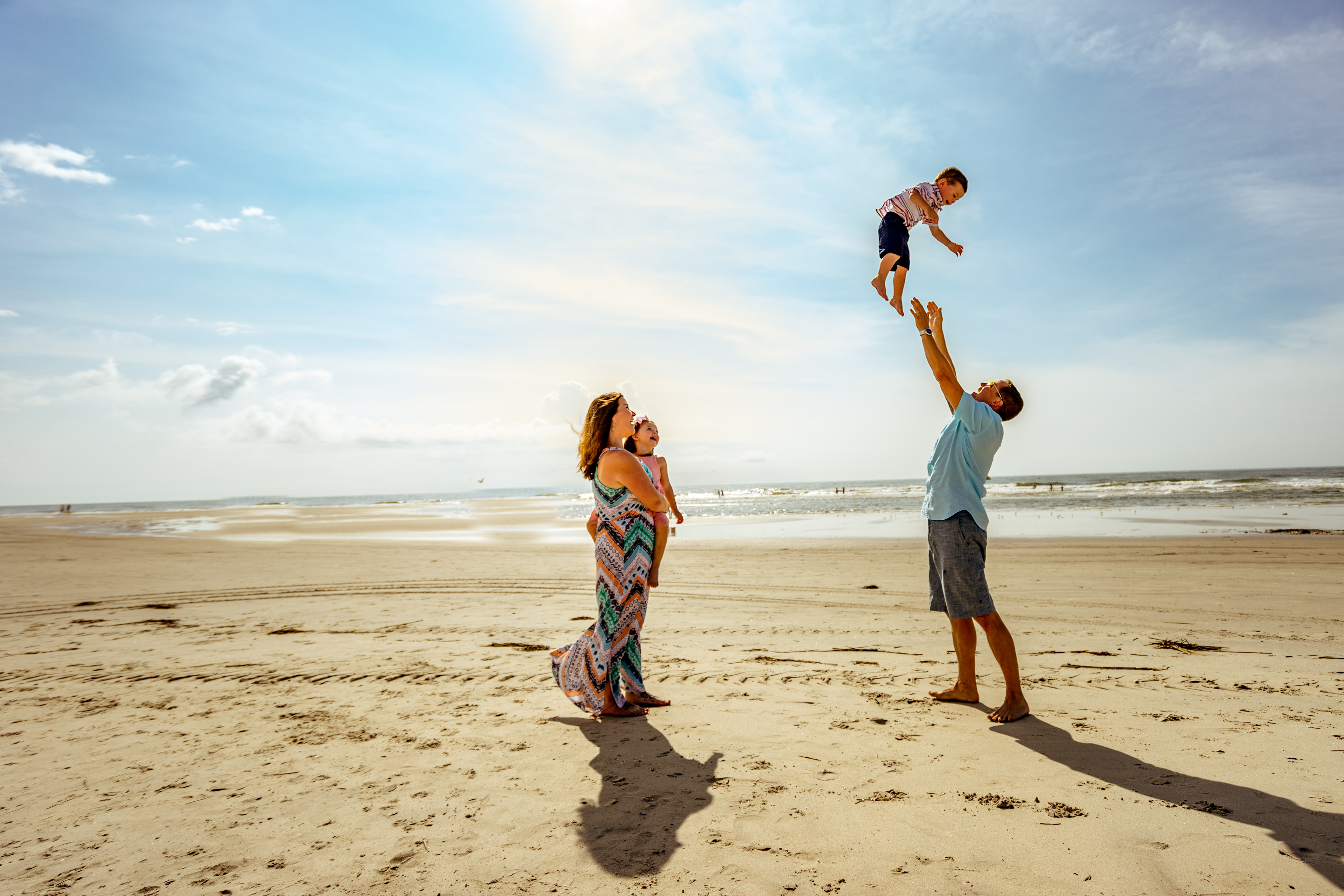 Sunset - Family Beach Sessions