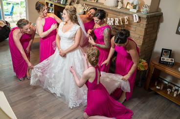 Bride and Bridesmaids Prep