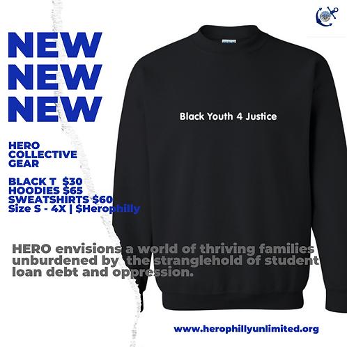 Black Youth 4 Justice Crewneck