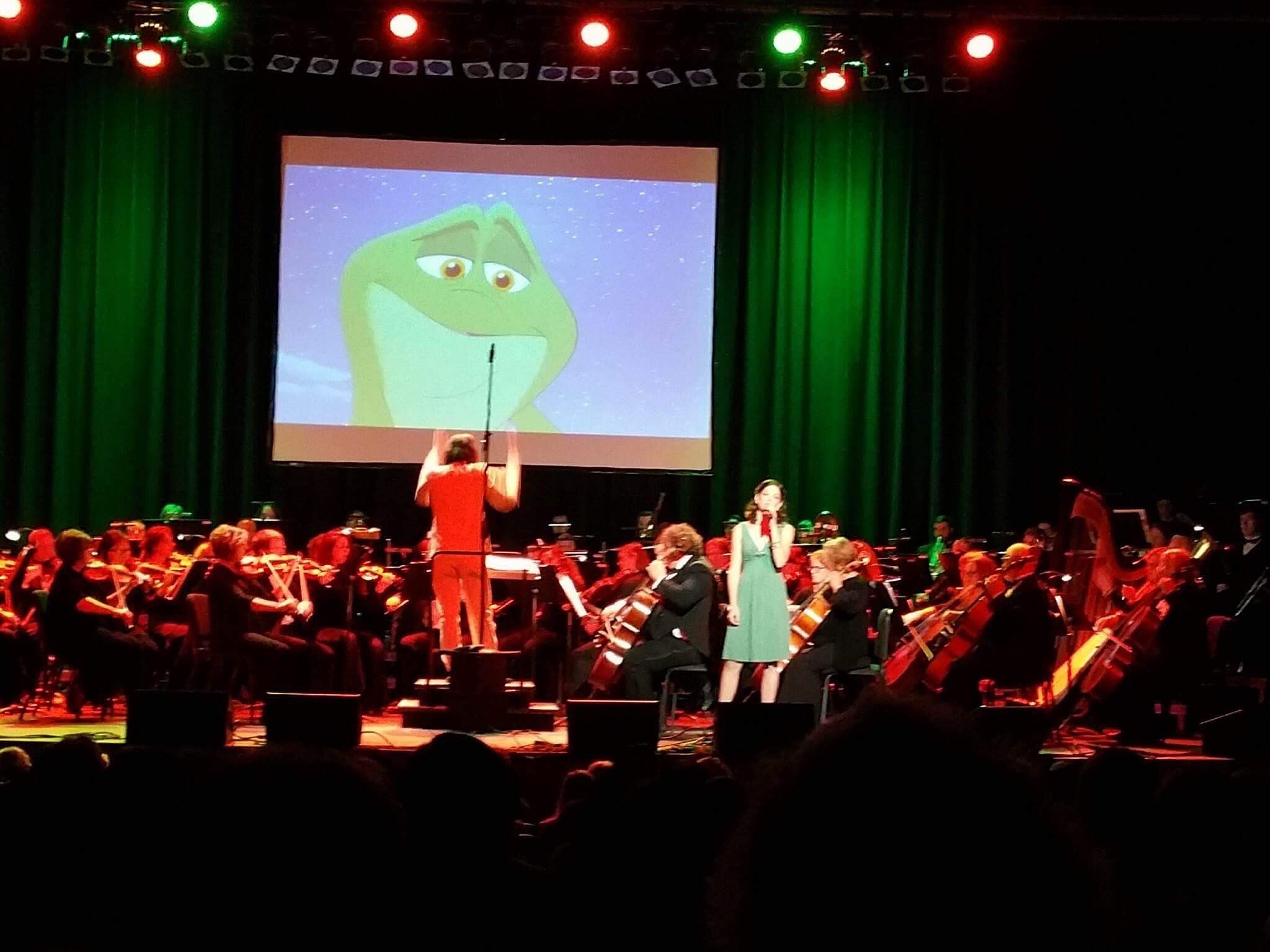 Soloist with Disney in Concert