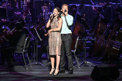 With Drew Michael for Disney in Concert