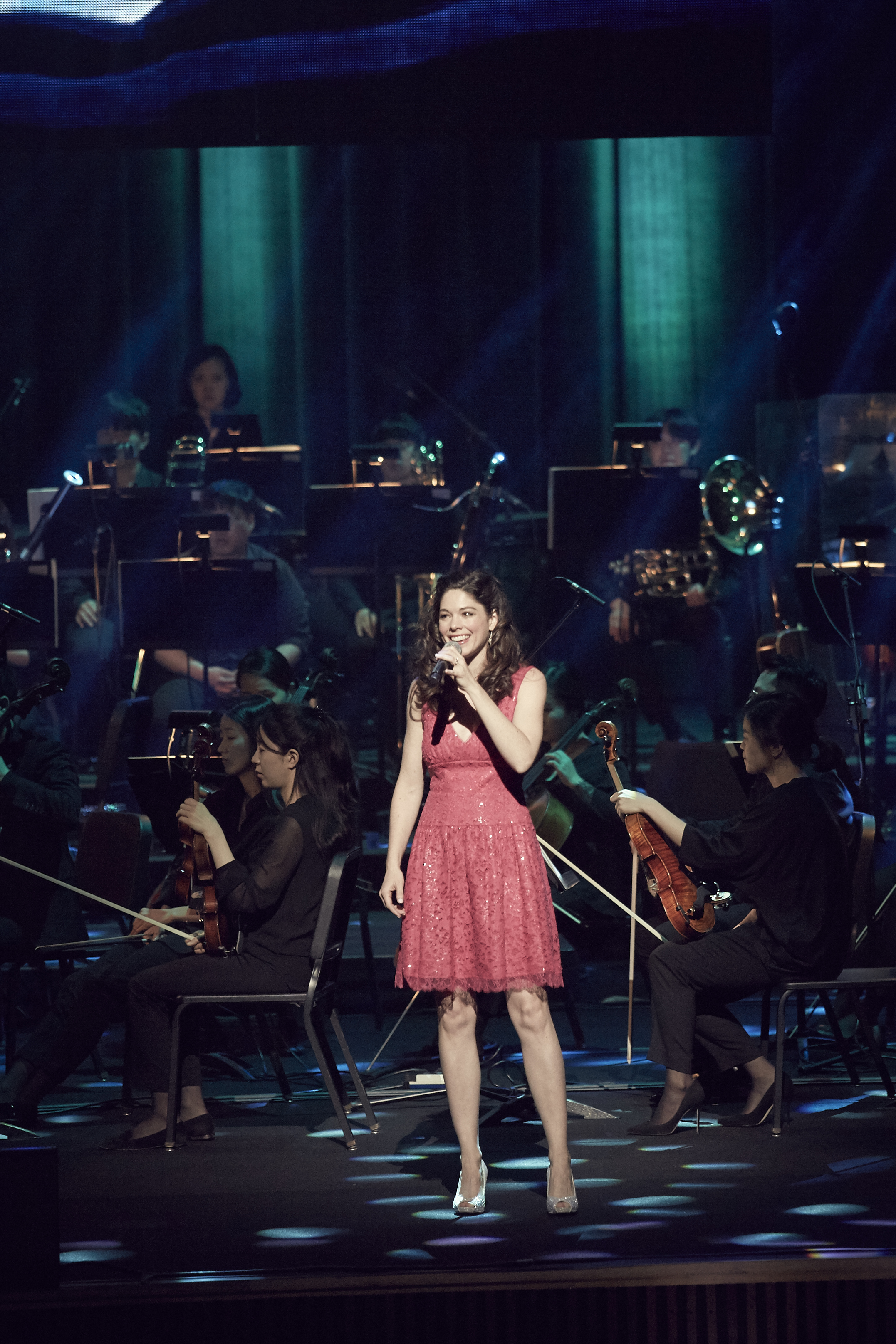 Soloist for Disney in Concert