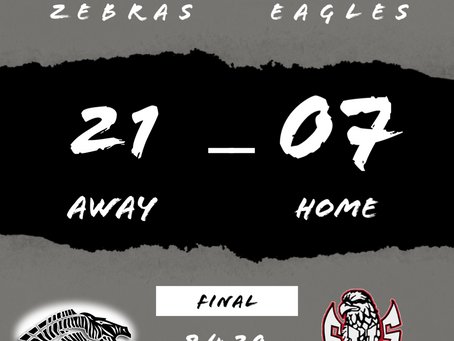 Zebras First Road Trip of theSeason Yields First Road Win!