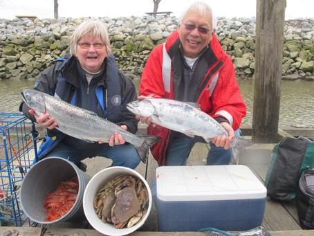 Last month to catch and retain a Chinook
