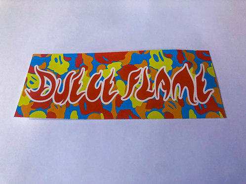 Duece Flame Stickers (Pack of 3)