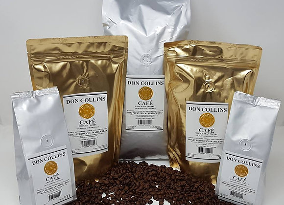 Don Collins Puerto Rican Coffee