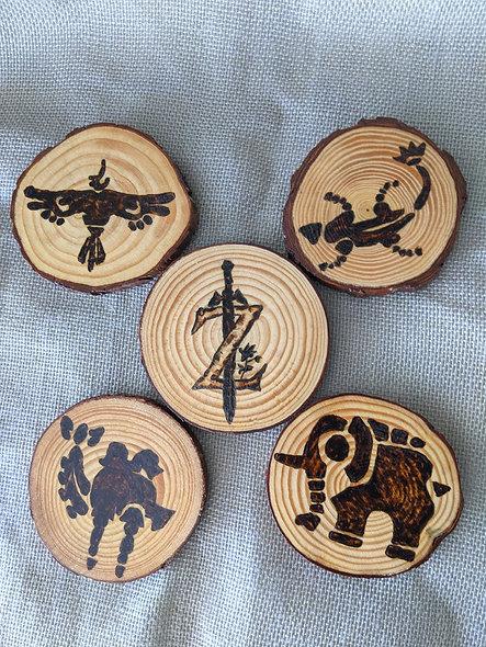 Zelda Divine Beasts Coasters
